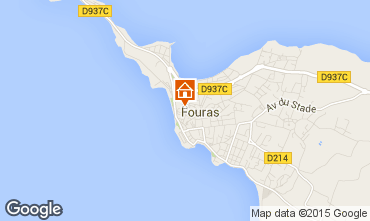 Carte Fouras Gite 27604