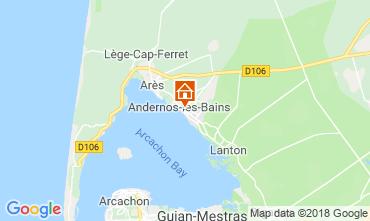 Carte Andernos les Bains Gite 116644