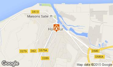 Carte Honfleur Gite 59120