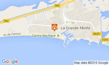 Carte La Grande Motte Studio 103799