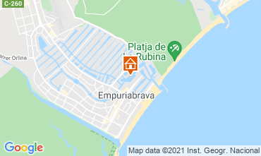 Carte Empuriabrava Appartement 106925