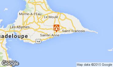 Carte Sainte Anne (Guadeloupe) Studio 8027