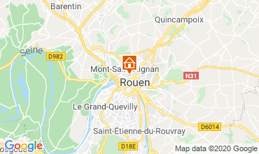 Carte Rouen Studio 118116