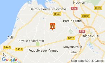 Carte Saint Valéry sur Somme Chateau 92371