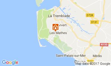 Carte La Palmyre Mobil-home 86552