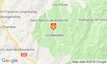 Carte Les Menuires Chalet 116653