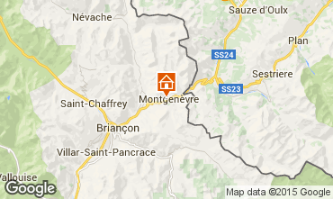 Carte Montgenevre Chalet 77618