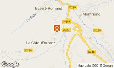 Carte Morzine Chalet 80713