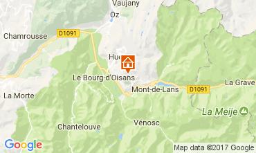 Carte Le Bourg-d'Oisans Appartement 112032