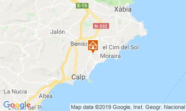 Carte Benissa Villa 53480