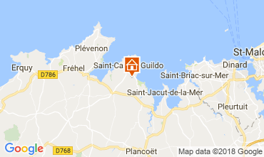 Carte Saint Cast Le Guildo Maison 113632