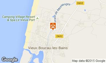 Carte Vieux Boucau Appartement 10059