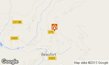 Carte Areches Beaufort Appartement 360