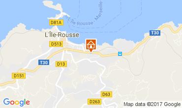 Carte Ile Rousse Appartement 86870