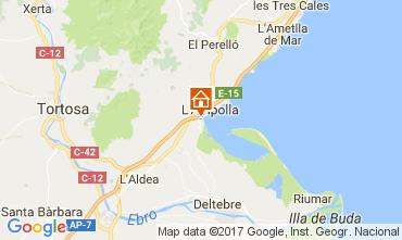 Carte L'Ampolla Villa 112078