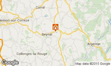 Carte Brive-la-Gaillarde Chalet 99381