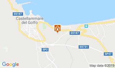 Carte Castellammare del Golfo Villa 103445