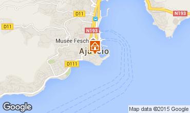 Carte Ajaccio Appartement 73148