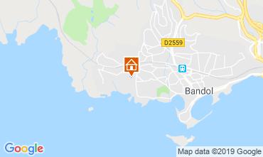 Carte Bandol Villa 119237