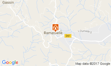 Carte Ramatuelle Mobil-home 107839