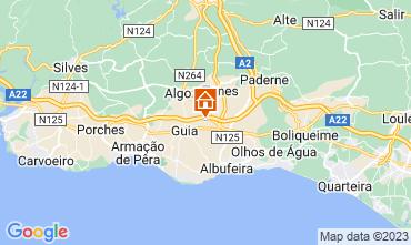 Carte Albufeira Villa 118399