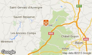 Carte Chatel-Guyon Gite 13600