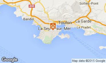 Carte La Seyne sur Mer Villa 84463