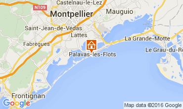 Carte Palavas-les-Flots Appartement 104876