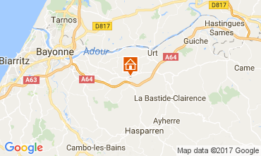 Carte Bayonne Maison 112701