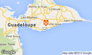 Carte Gosier (Guadeloupe) Chambre d'hôte insolite 93210