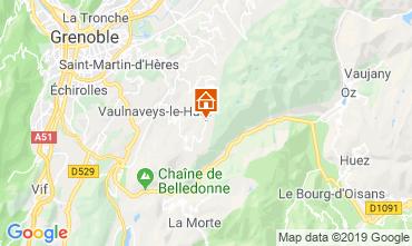 Carte Chamrousse Chalet 742