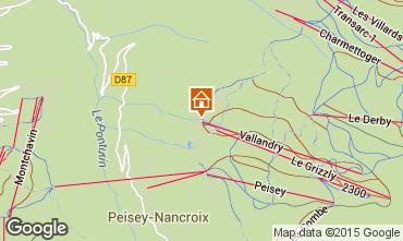Carte Peisey-Vallandry Appartement 28048