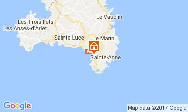 Carte Sainte Anne (Martinique) Appartement 8122