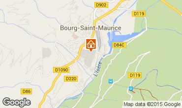 Carte Bourg saint Maurice Appartement 218