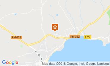 Carte Puerto de Mazarrón Bungalow 117322