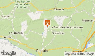 Carte La Tour d'Aigues Villa 24563