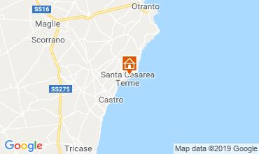 Carte Santa Cesarea Terme Maison 113333