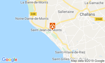 Carte Saint Jean de Monts Mobil-home 118161