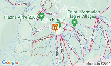 Carte La Plagne Chalet 118998