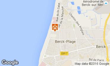 Carte Berck-Plage Appartement 102314