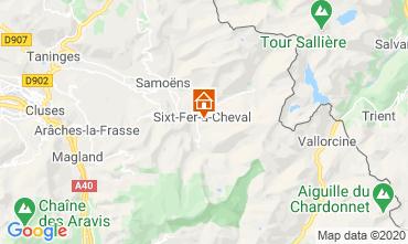 Carte Sixt Fer à Cheval Chalet 116957
