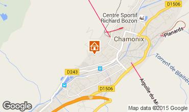 Carte Chamonix Mont-Blanc Appartement 14771