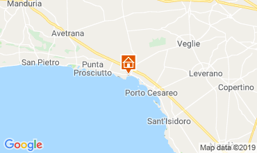 Carte Porto Cesareo Appartement 117577