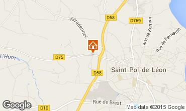 Carte Saint-Pol-de-Léon Maison 58777