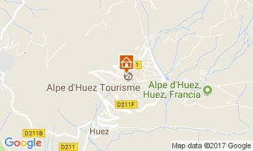 Carte Alpe d'Huez Appartement 64