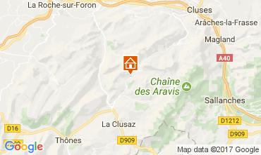 Carte Le Grand Bornand Chalet 112003