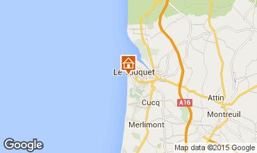 Carte Le Touquet Studio 47554