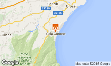 Carte Cala Gonone Appartement 90605