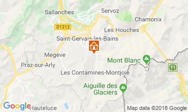 Carte Saint Gervais Mont-Blanc Chalet 116893