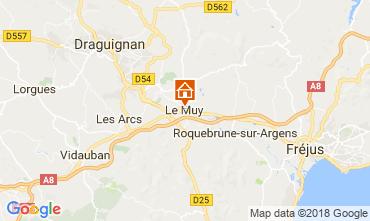 Carte Roquebrune sur Argens Appartement 115227